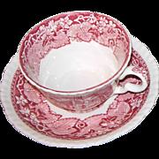 Mason's Vista Pink Small Cup & Saucer