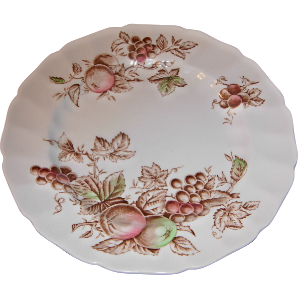 Harvest Time 10 Inch Dinner Plate by Johnson Bro's