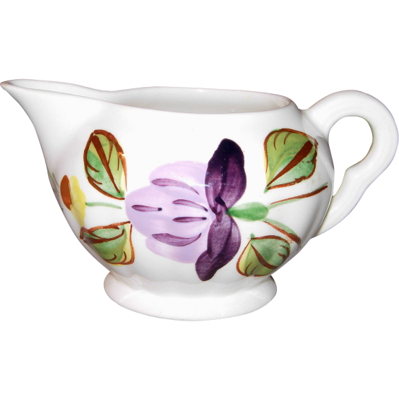 June Bouquet Pattern Creamer/Pitcher by Blue Ridge Southern Potteries