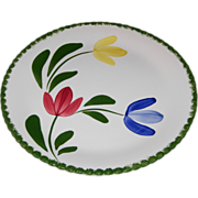 Peggie's Posies Dinner Plate by Blue Ridge Southern Potteries
