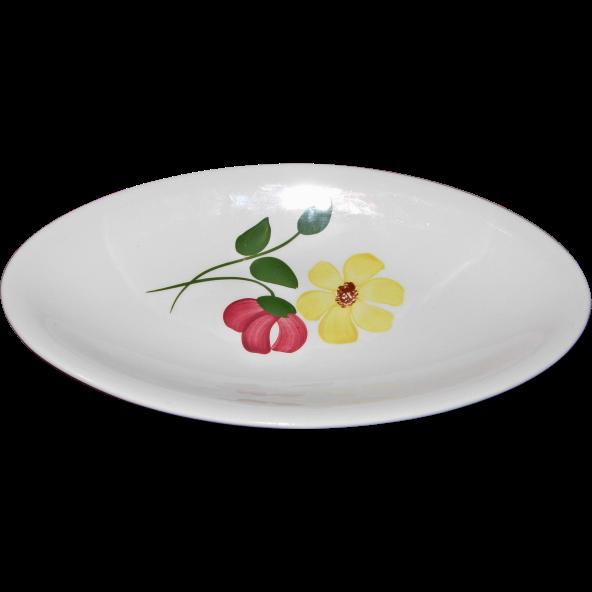Chloe Pattern Celery Dish by Blue Ridge Southern Potteries