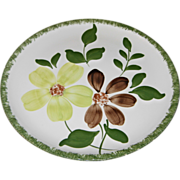 Green Briar Luncheon Plate by Blue Ridge Southern Potteries