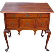 18th Century Queen Anne Maple Low Boy