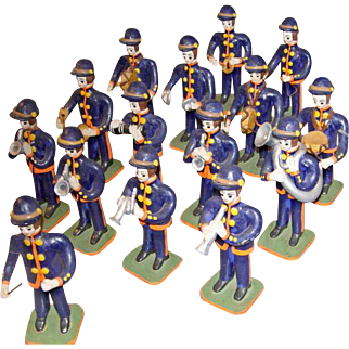 15 Piece Ceramic Marching Band