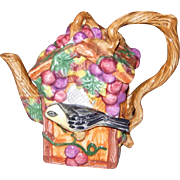 Jay Willfred Collectible Birdhouse Teapot