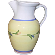 Carousel Pattern Water Pitcher by CALECA Italian Pottery