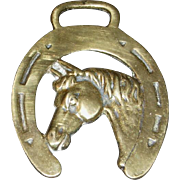 Cast Working Horse Brass with Horse Head