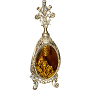 Gilt Filigree Ormolu Perfume Bottle