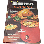 First Edition Rival Crock-Pot Cooking Cookbook (1975)