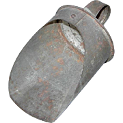 Tin Scoop with Loop Handle