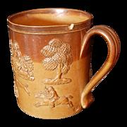 Doulton Lambeth Salt Glaze Mug-Tankard
