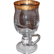 8 Gold Rimmed Irish-Coffee Cups