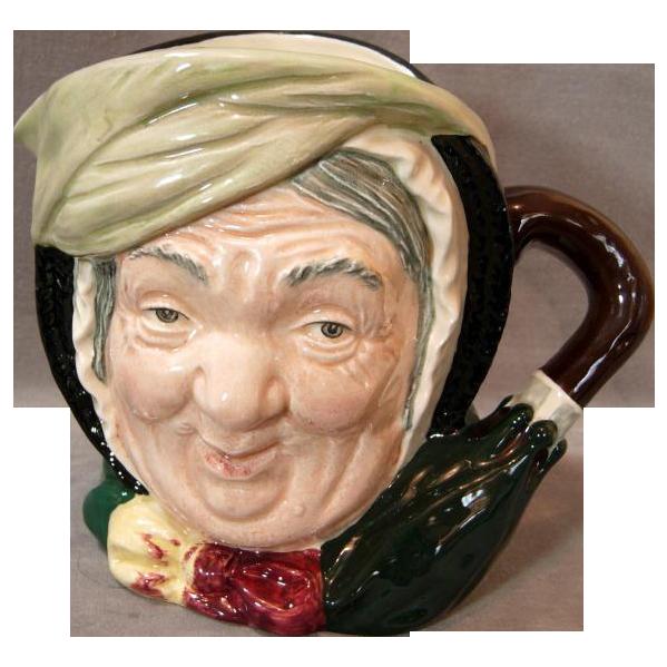 """Royal Doulton """"Sairey Gamp"""" Character Mug"""