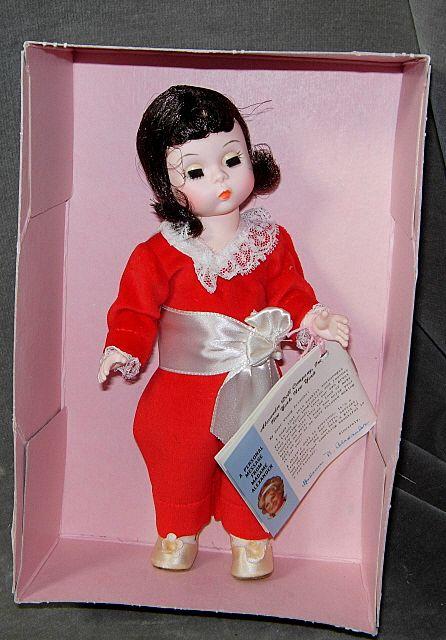 Madame Alexander Storyland Red Boy Doll #440