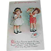 Valentine's Day Postcard by Wolf & Co.