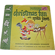 Vintage Childrens Record - Christmas Fun with Spike Jones