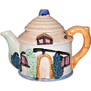 Vintage Cottage Teapot