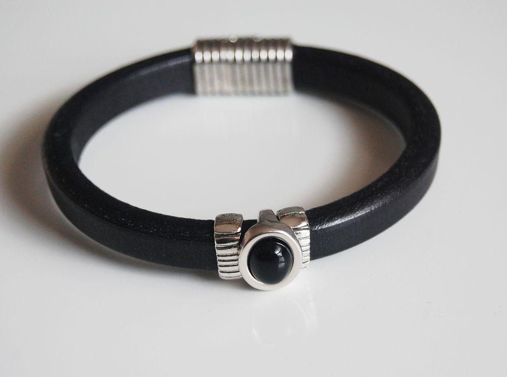 s black licorice leather bracelets leather bracelets