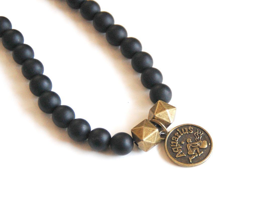 zodiac necklace aquarius zodiac necklace horoscope