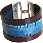 Men's Leather Cuff Bracelet -Men's Bracelet - Leather Cuff Bracelet- Unisex Bracelet- Cuff Bracelet--Handmade Bracelet -For Men And Women