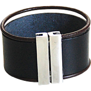 Men's Leather Cuff Bracelet - Cuff Bracelet- Men's Cuff Bracelet -Men's Bracelet- Unisex Bracelet- Women's Leather Bracelet -men's jewelry