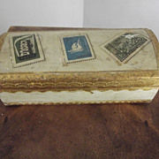 Wood Stamp Box