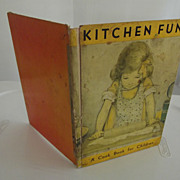 "Children's Book ""Kitchen Fun"" - Red Tag Sale Item"