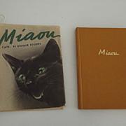 """Cat Book """"Miaou"""" - Red Tag Sale Item"""