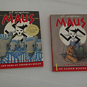 "Set of Two ""Maus""  Art Spiegelman"