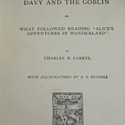 "Children's Book ""Davy and the Goblin"""