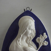 Religious Plaque With Mary