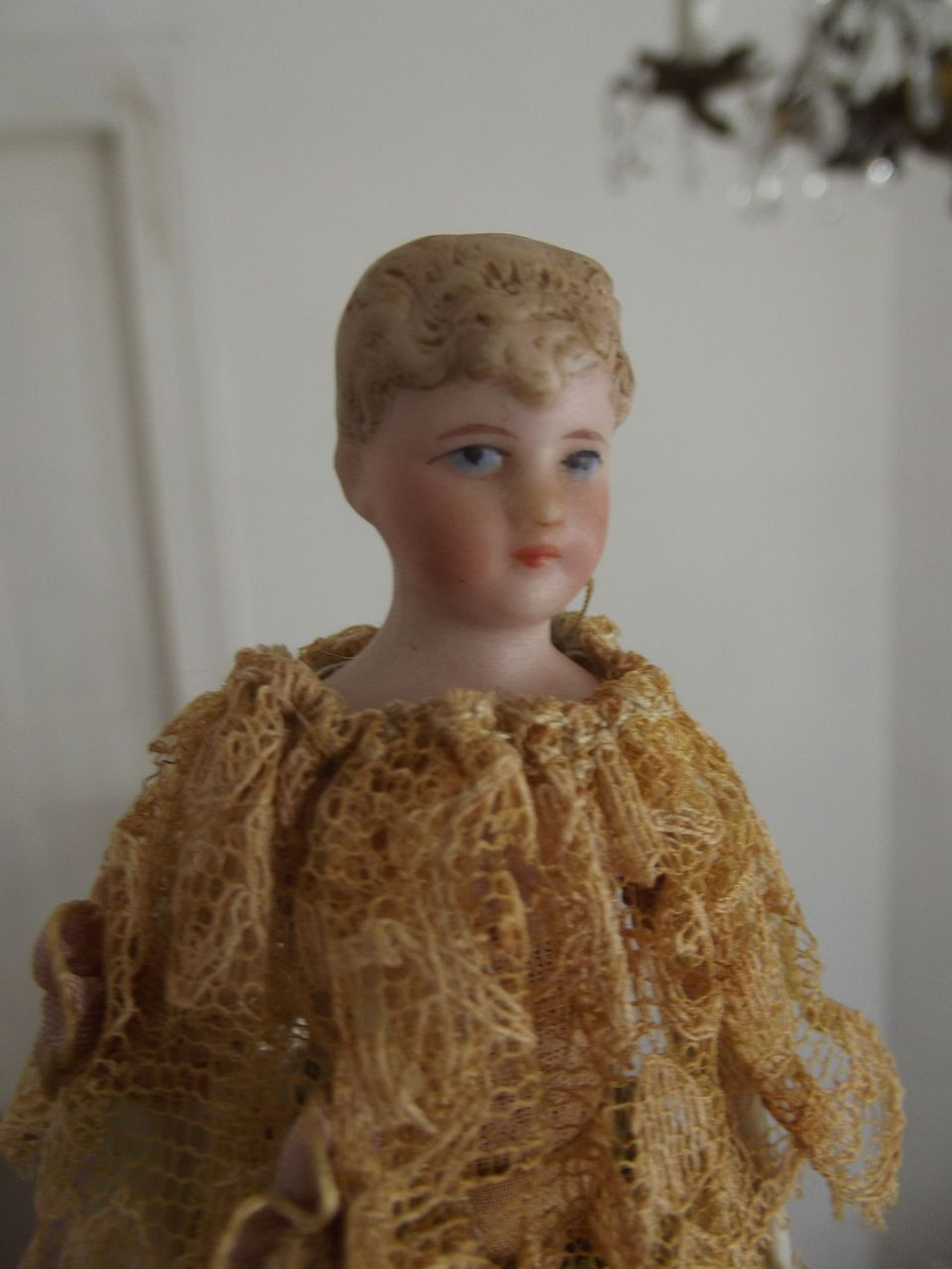 Dollhouse Lady Doll With Bun
