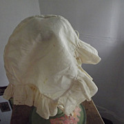 Early Cotton Bonnet