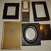 Selection of Old Small Frames