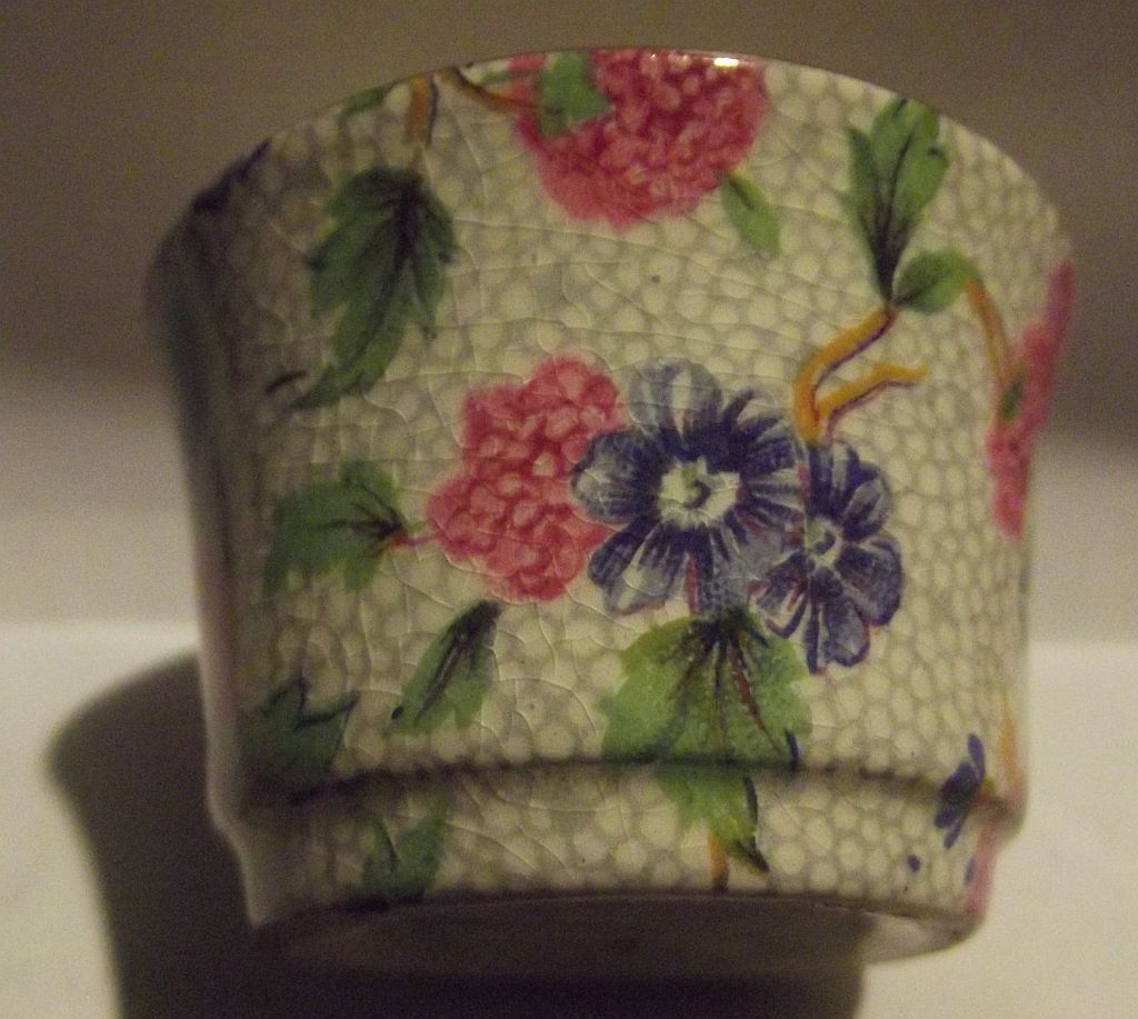 Tiny Chintz Porcelain Comtainer