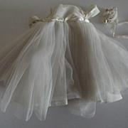 Madame Alexanderkins Bride Gown  1960's