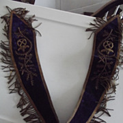 Masonic Ceremonial Mantle or Collar