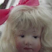 Cabinet Sized Heubach Pouty  Heubach Doll