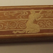 Pretty Wood Box With Cherubs