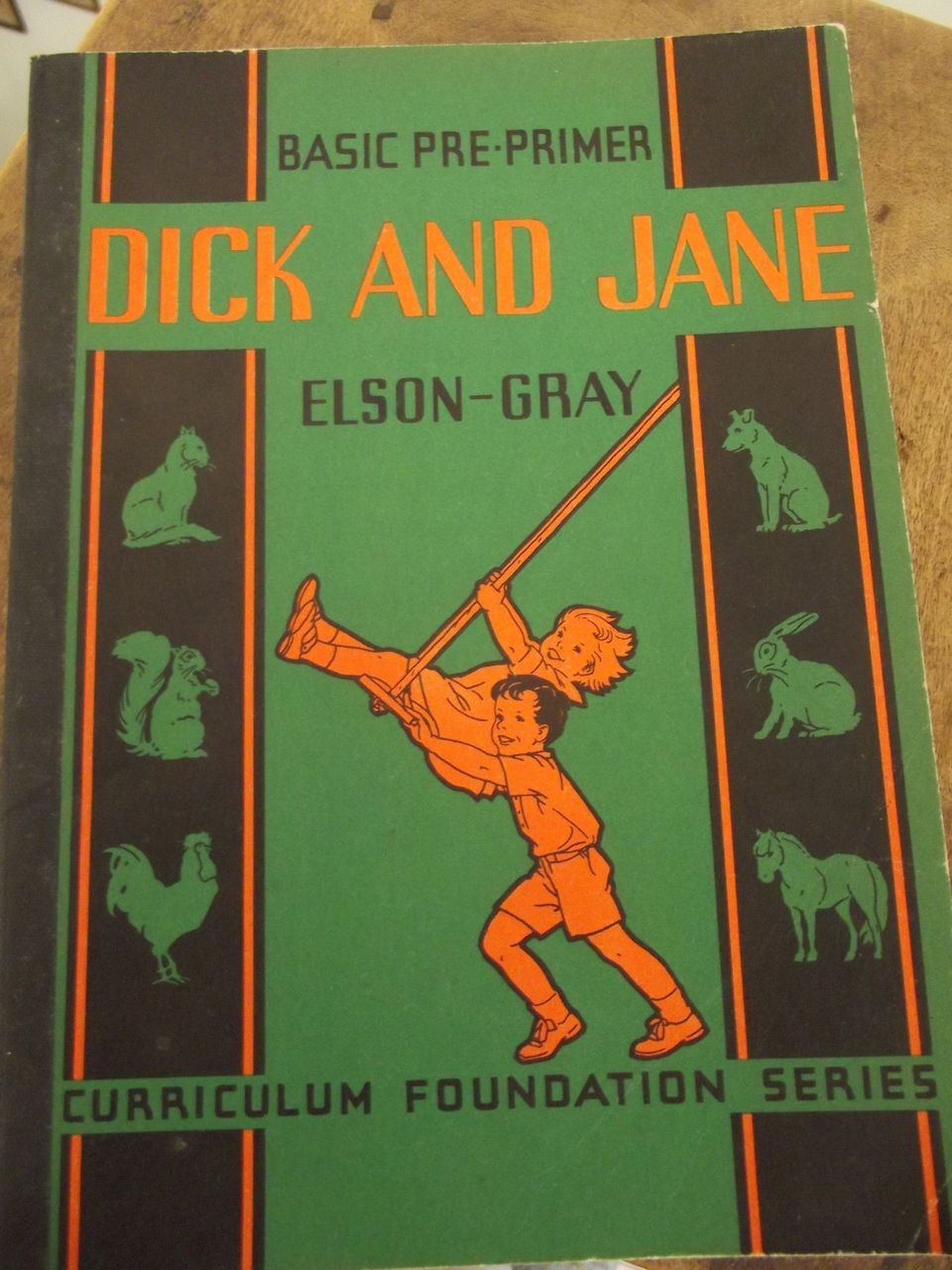 "Rare Soft Cover ""Dick And Jane"" Book"