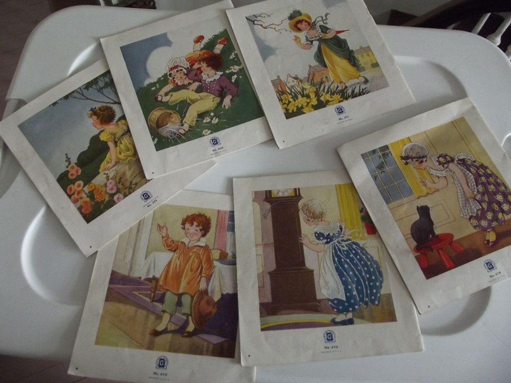 Lot of Nursery Rhyme Books Circa 1930