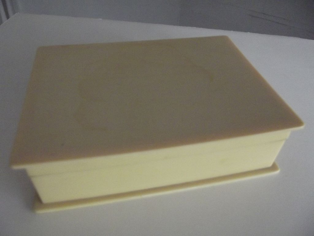 Cream Colored Celluloid Box