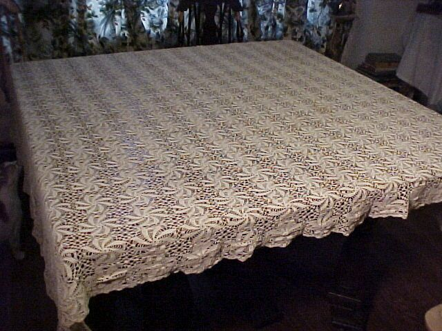 Beautiful Old Tablecloth