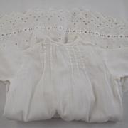 White Drop Waist Dress