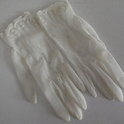 Nylon Gloves From The Fifties