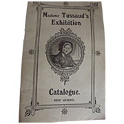 Madame Tussaud's Exhibition Catalogue &Rose Hotel