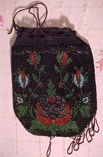 Nice Old Beaded Bag