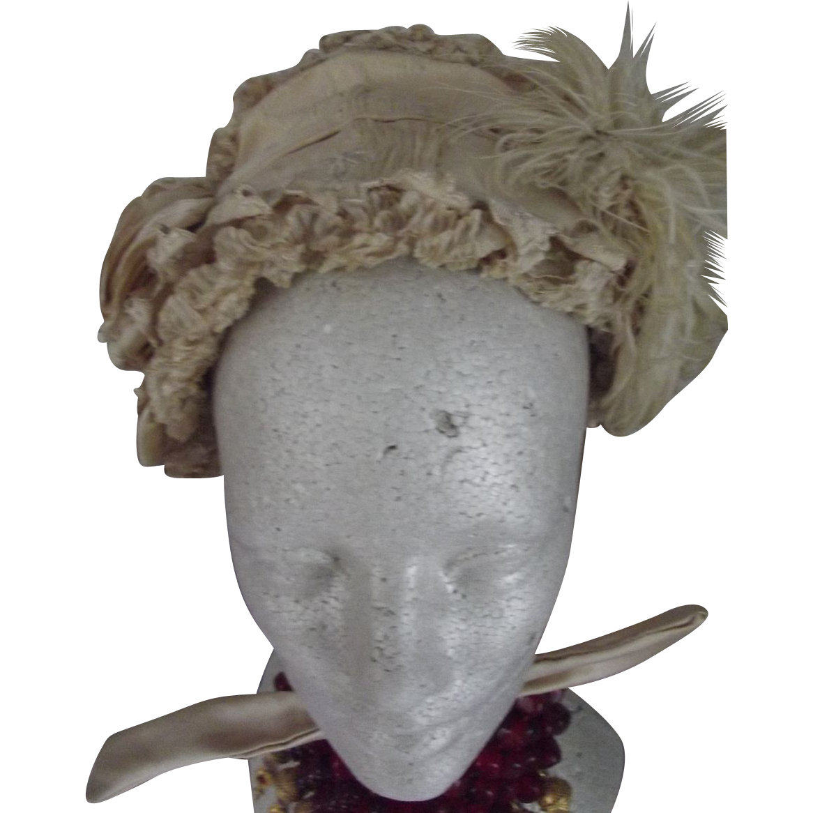 Victorian Bonnet For Child, Doll