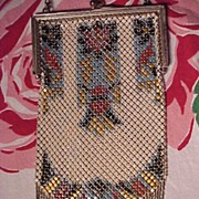 Art Deco Mandalian Mesh Bag