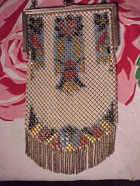 Art Deco Mandalian Mesh Bag